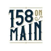 158 on MAIN