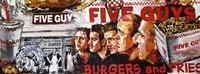 FIVE GUYS Burgers & Fries Restaurant