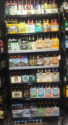 Vast selection of brews
