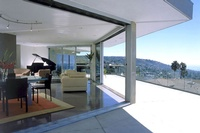 Taking advantage of spectacular views this 1960's tract home was transformed into a contemporary jewel.  Designed by Michael Blakemore