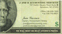 J and B Accounting Services Inc.