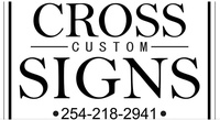 Cross Custom Signs