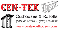 CEN-TEX OUTHOUSES & ROLLOFFS