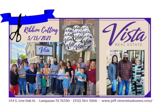 Vista Real Estate Ribbon Cutting Ceremony