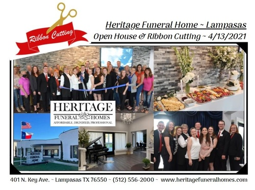 Heritage Funeral Ribbon Cutting Ceremony