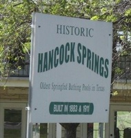 Hancock Springs Free Flow Pool