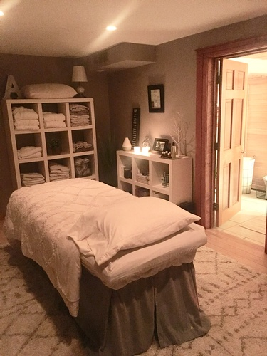 Our cozy and tranquil spa