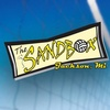 The Sandbox Bar and Volleyball Courts at Game On Sports Bar