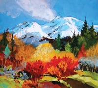 First Snow by Greg Messer- Local Artist