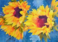 Sunflowers by Greg Messser- Local Artist