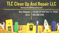 TLC Clean Up and Repair LLC