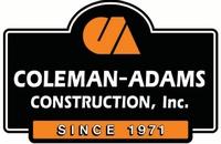 Coleman-Adams Construction, Inc.