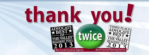 Best of the Valley - Local Insurance Agent 2013