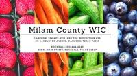 Milam County WIC Program