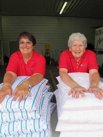 The Ladies' Auxiliary is part of the backbone of our organization
