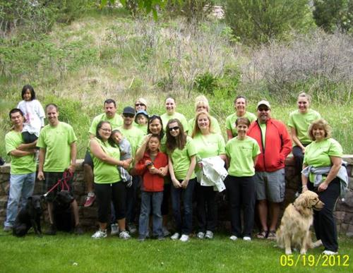 MS Walk - Glenwood Canyon - May 2012
