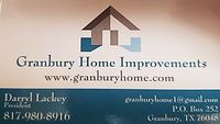 Granbury Home Transformations