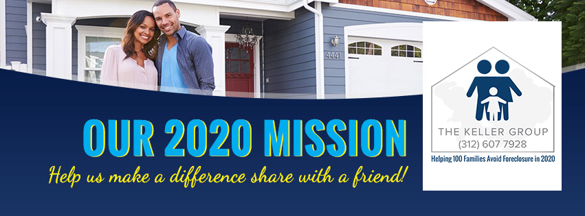 Our 2021 Mission is to Help 100-Families Avoid Foreclosure