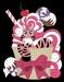 Pink Zebra Cupcakes