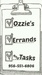 Ozzie's Errands and Tasks