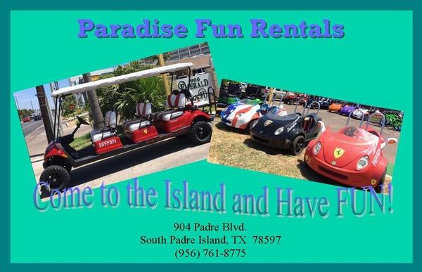 Paradise Fun Rentals | ATV Rentals | Golf Cart Rentals | Bicycle/E