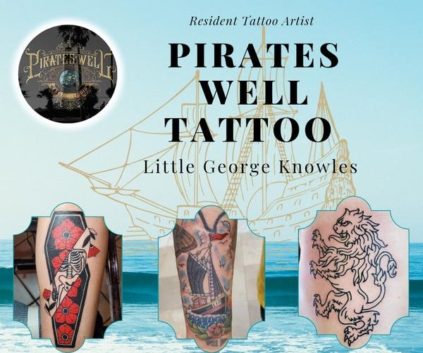 Resident Tattoo Artist Little George