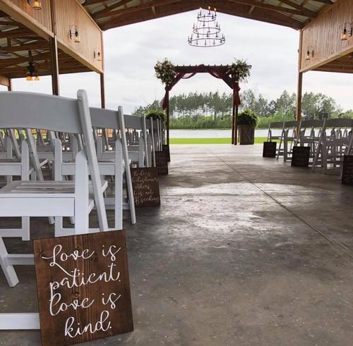 Open Barn Wedding