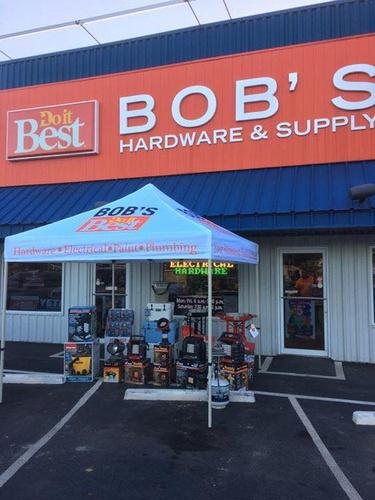 Bob's Tent Sale