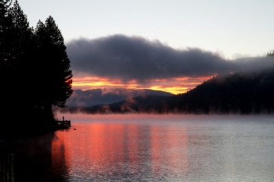 Sunrise on Donner Lake