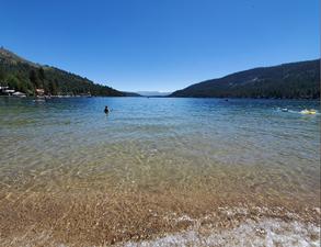 Donner Lake-West End Beach Park