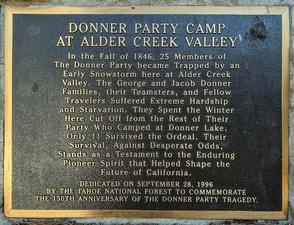 Historical Site - Donner Camp Trail at Alder Creek