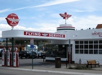 Flying A Gas Station