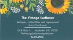 The Vintage Sunflower