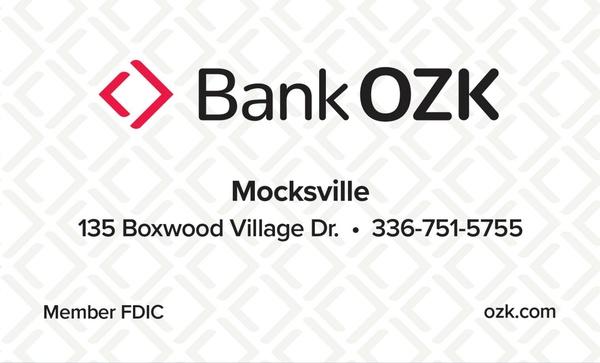 Bank of the Ozarks - Mocksville