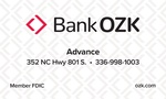Bank OZK - Advance