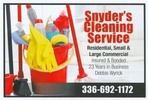 Snyder's Cleaning Service