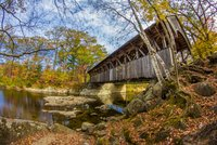 Artists' Covered Bridge over the Sunday River
