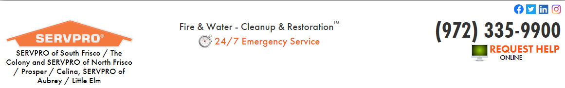 SERVPRO of South Frisco/The Colony