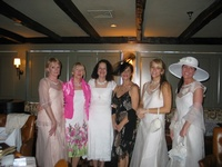 From our fashion show at the Wequassett Inn - our beautiful clothes and accessories for weddings and other special occasions