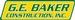 G.E. Baker Const., Inc.