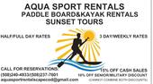 Aqua Sport Rentals