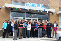 Boardwalk Burgers & Fries Ribbon Cutting