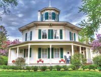 Octagon House, Copyright Jeff Bucklew