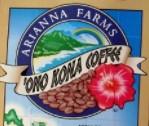 Arianna Farms 'Ono Kona Coffee, LLC
