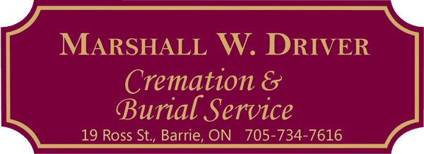 Marshall W. Driver Cremation & Burial Service