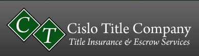 Cislo Title Company