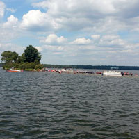 The Island on Big St. Germain Lake