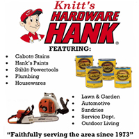 KNITT'S HARDWARE HANK