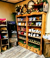 Our gift shop features a variety of cranberry-based items.