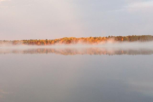 Fall on Pickerel Lake
